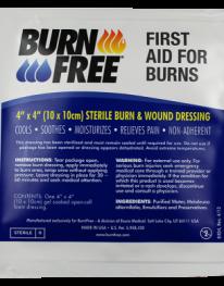 Burn Free 4x4 Burn Dressing