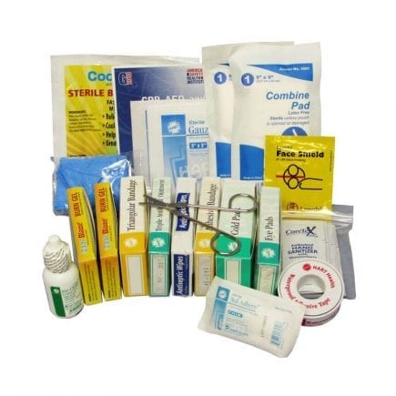 Vehicle/Truck First Aid Kit Refill - display view
