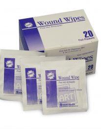 Antiseptic Wipes - 20/box - display view