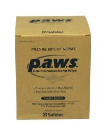 Personal Antimicrobial Wipes - 100/box - front view