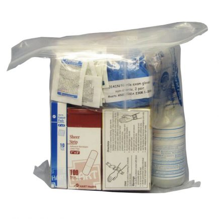 ANSI Basic Industrial Refill Kit - alternate view of refill kit contents.