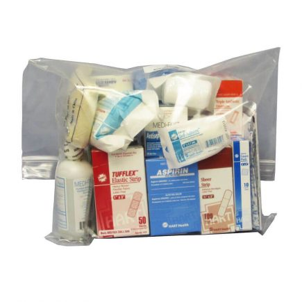 Small Office First Aid Refill Kit - front view.