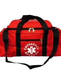 Empty EMT Style Trauma Kit Bag - Front View