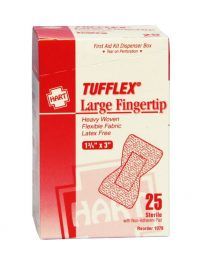 Heavy Duty Extra Large Fingertip Bandages - Front View