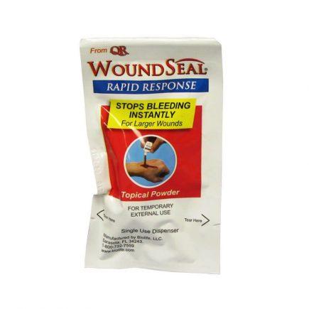 Wound Seal Rapid Response Stop Bleeding Powder - front view
