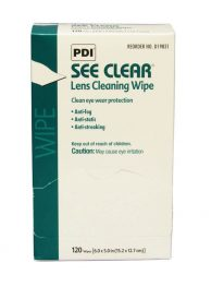 See Clear Lens Cleaning Wipes 120/box - front view