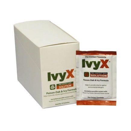 IvyX Poison Oak and Ivy Barrier - 25/box - display view