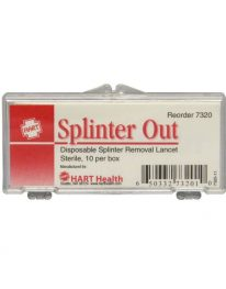 Disposable Splinter Out Probe - 10/pack - front view