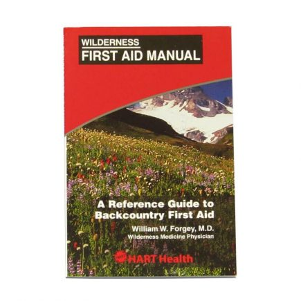 Wilderness First Aid Manual - Front view